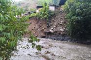 Emergencia por las lluvias en Caucasia, Antioquia.