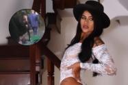 Alejandra Torres, modelo que desfiló en lencería en Medellín