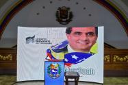 La Asamblea de Venezuela pone en su atril foto de Alex Saab