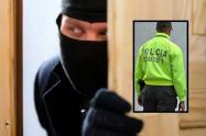 """La policía capturó a alias """"El Flaco"""" y Lucho"""" responsable de este robo en el sector de Provenza en El Poblado"""
