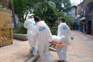 Sangrienta muerte en un hotel del centro de Medellín
