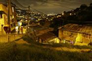 Un policía herido dejó balacera en fiesta en la comuna 13 de Medellín