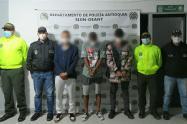 """Los detenidos harían parte del grupo delincuencial """"Los del Alto""""."""