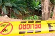 Masacre en Antioquia (imagen referencial).