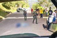 Murió joven motociclista en intento de robo en Medellín