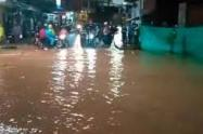 Fuerte aguacero dejó a más de 400 damnificados en Segovia, Antioquia