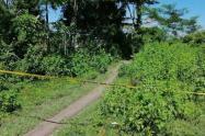 Este cuerpo sin vida fue encontrado en zona rural de este municipio.