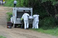 Hallaron cadáver metido en una tula en Copacabana, Antioquia