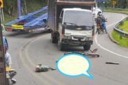 La causas de este accidente de tránsito son materia de investigación