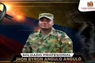 Soldado profesional asesinado en Tibú