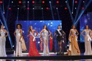 Siete finalistas de Miss Universe Colombia 2021
