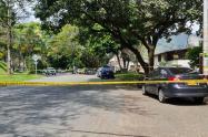 Un fletero terminó herido en tiroteo con la policía en el barrio Santa Mónica