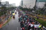 Movilizaciones estudiantiles en Medellín