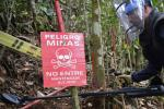 Foto referencia minas antipersonal.