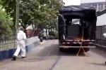 Autoridades desinfectan la cárcel de Bellavista para evitar contagios de COVID 19