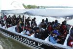 Los migrantes han salido en lanchas en condiciones seguras.
