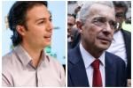 Daniel Quintero y Álvaro Uribe
