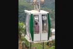 Cable aéreo en el occidente de Medellín