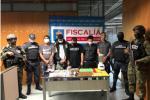 Uno de los detenidos es buscado por la Interpol.