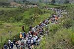 Marcha en Anorí, Antioquia.