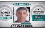 Esta persona estaba en el cartel de los más buscados en el país y por su captura se ofrecían 538 millones de pesos.