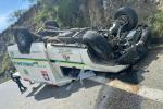 En este incidente dos personas resultaron lesionadas.
