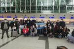 Misión Internacional de Solidaridad y Observación de DDHH a la que pertenece el activista Juan Grabois