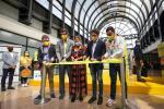 Inauguración de vuelo directo Medellín-Cancún.