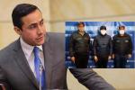 Autoridades capturaron al senador Richard Aguilar