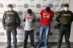 Capturan a dos ladrones con 70 metros de cobre en Itagüí