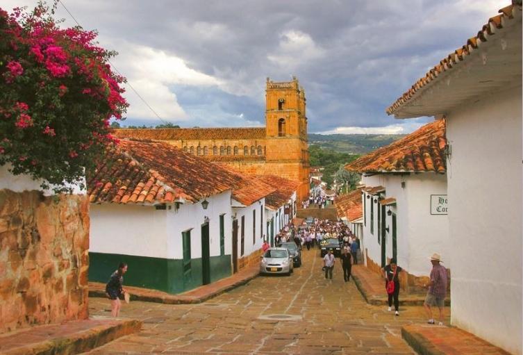 El pueblito más lindo de Colombia se prepara para la reactivación turística.
