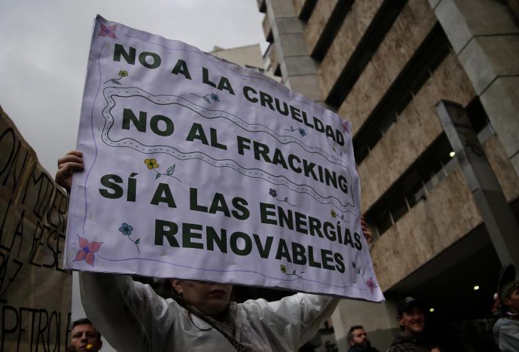 Hay quienes piden rotundamente prohibir el fracking en Colombia