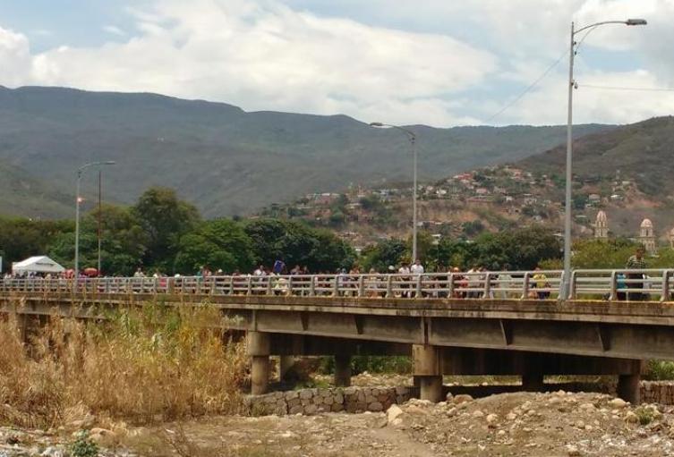 Puente Internacional Simón Bolívar en el municipio de Villa del Rosario, Norte de Santander
