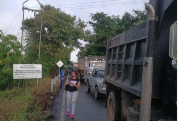 Vía Tibú-Cúcuta
