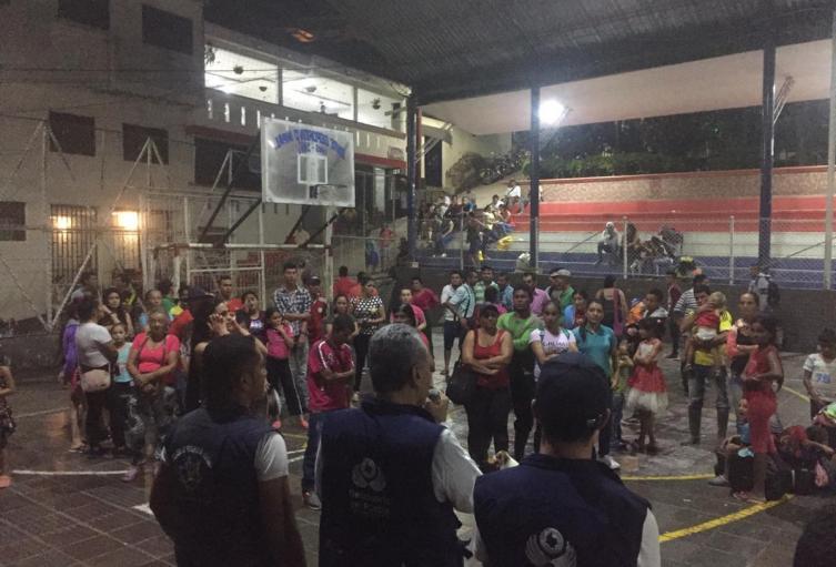 Defensoría del Pueblo atiende a personas desplazadas en el Catatumbo.