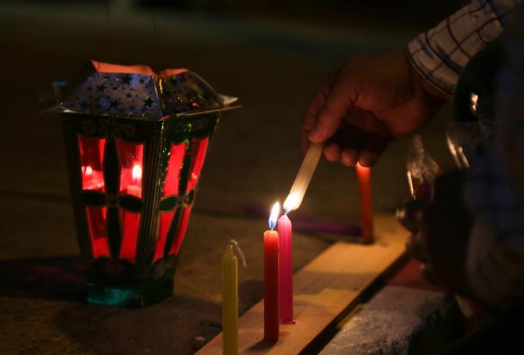 El Día de las Velitas está asociado a una celebración religiosa.