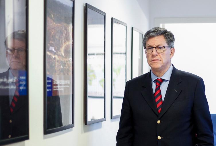 José Miguel Vivanco, director de la División de las Américas de Human Rights Watch, el 16 de enero de 2019 en Sao Paulo (Brasil)