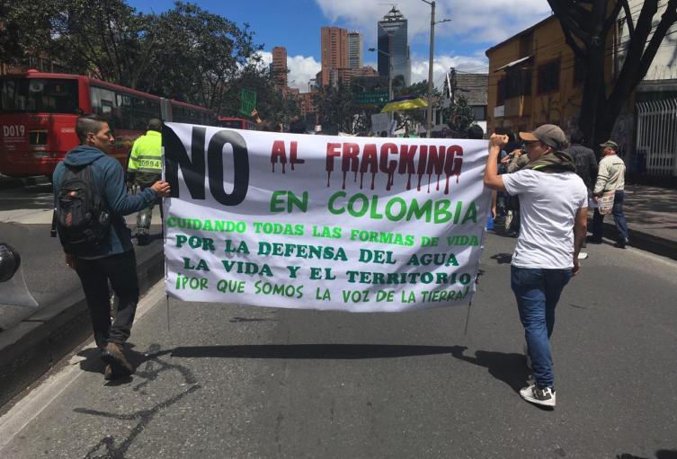 La USO y la Alianza Colombia Libre de Fracking unen fuerzas en contra de la fracturación hidráulica en Colombia