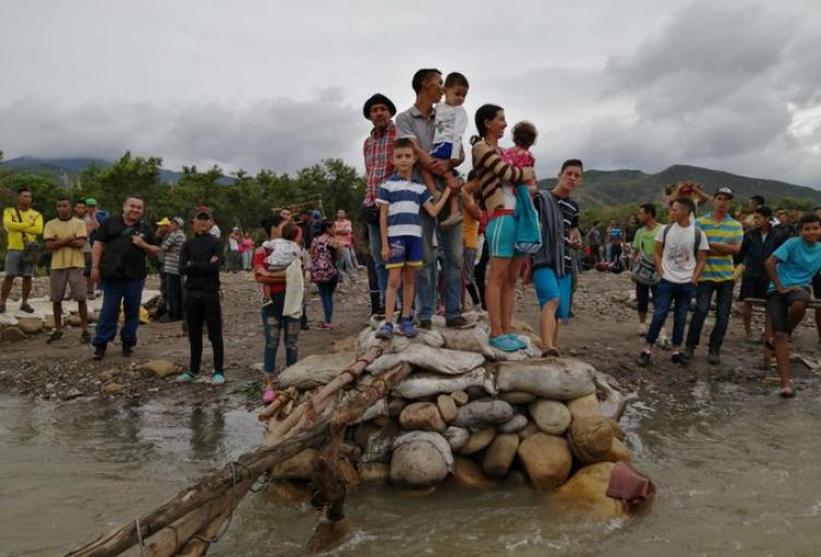 Trochas de la zona de Frontera entre Colombia y Venezuela
