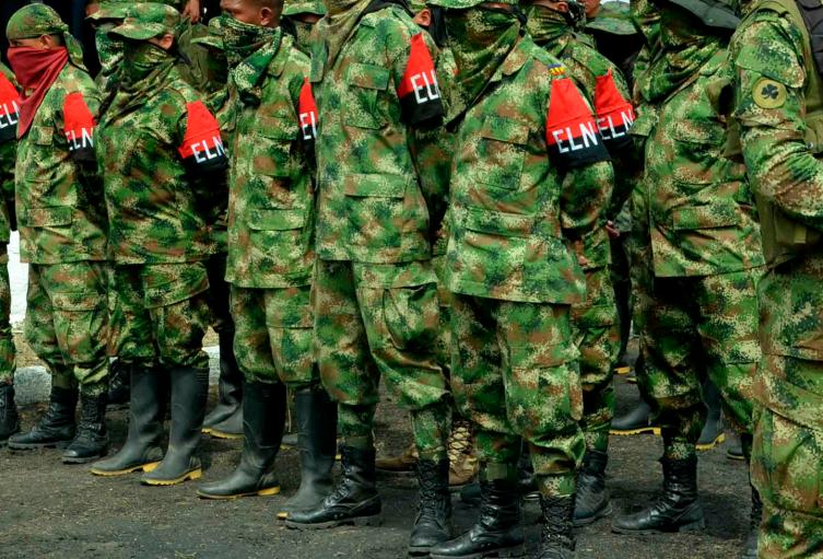 Guerrilleros del ELN presentes en la frontera con Venezuela