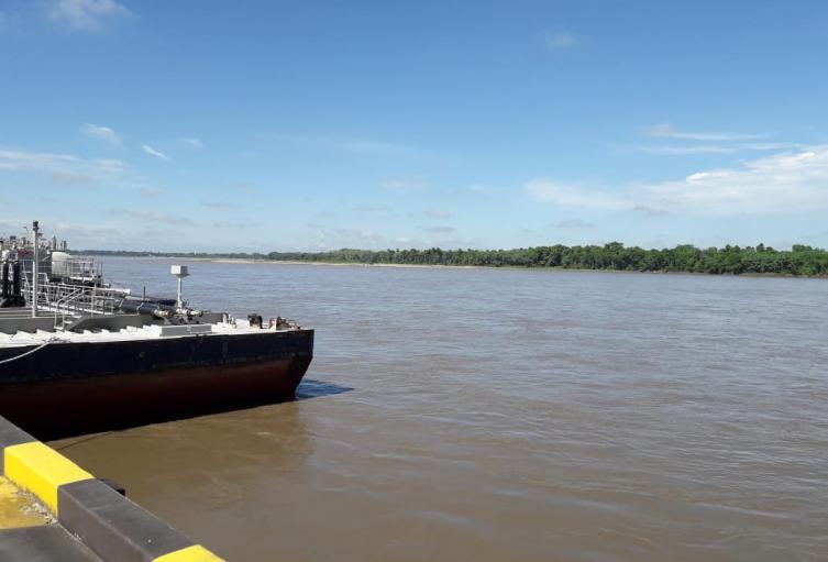 Aumento del caudal del río Magdalena tiene en alerta roja a veredas y barrios de Barrancabermeja