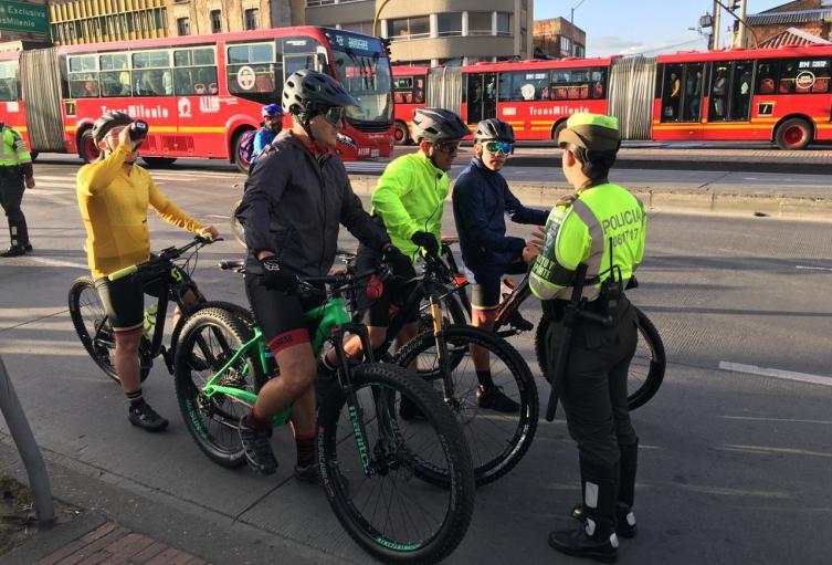 Se han incrementado los accidentes de ciclistas en las vías.