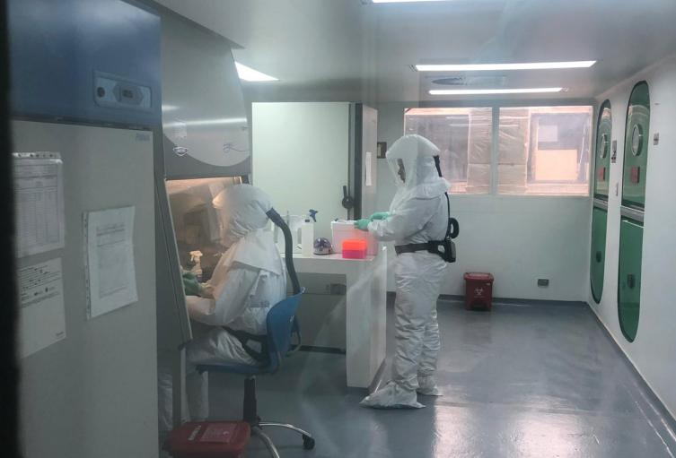 Laboratorios de diagnostico de coronavirus en Colombia