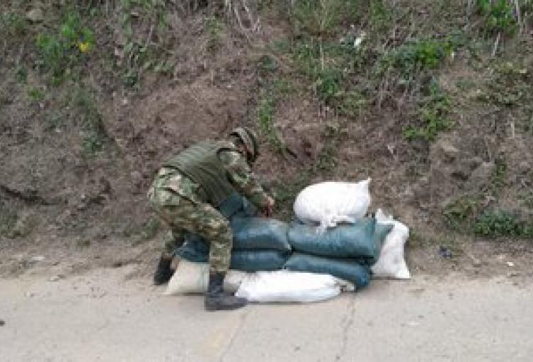 Ejército desactiva explosivos en el Catatumbo