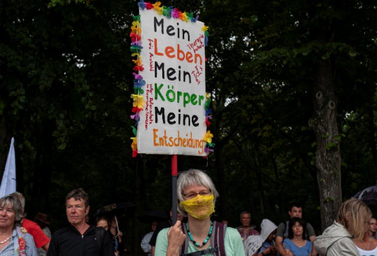 Protestas coronavirus en Alemania