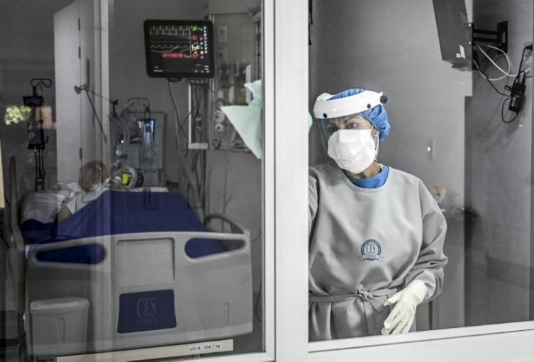 Coronavirus en Colombia Unidad de Cuidados Intensivos (UCI)