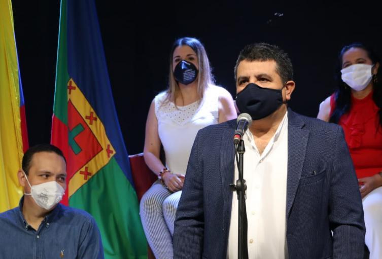 Alcalde de San Gil  Hermes Ortiz