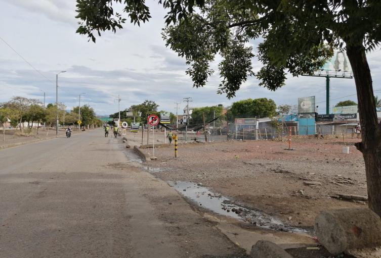 Sector de la Parada en Villa del Rosario, zona de Frontera