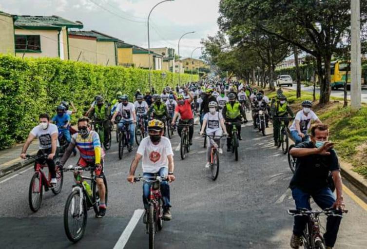 Caravana por el Páramo de Santurbán en Santander
