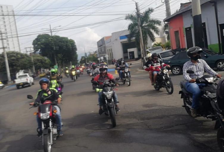 Los motociclistas consideran que han sido perseguidos por las autoridades.